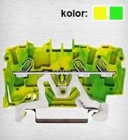 2002-1307 TOPJOBS złączka 3-przewodowa 2,5 mm&sup2 żółto-zielona