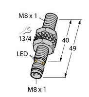BI2-EG08-AP6X-V1131 Turck Czujnik indukcyjny
