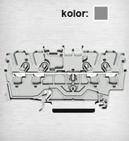 2004-1401 TOPJOBS złączka 4-przewodowa 4 mm&sup2 szara