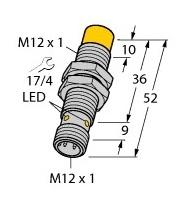 NI8-M12-AP6X-H1141 Turck Czujnik indukcyjny
